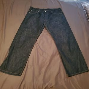 Levi's 569 Style Blue Gray-ish Jeans 36 X 30